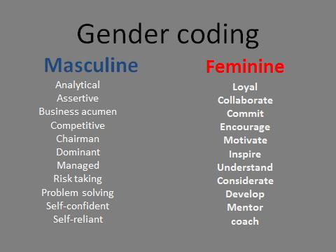 gender coding